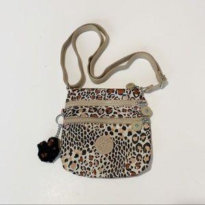 Kipling Alvar Leopard Print Mini Crossbody Bag